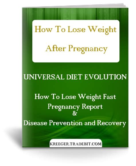 How To Lose Weight After Pregnancy Report Bonus