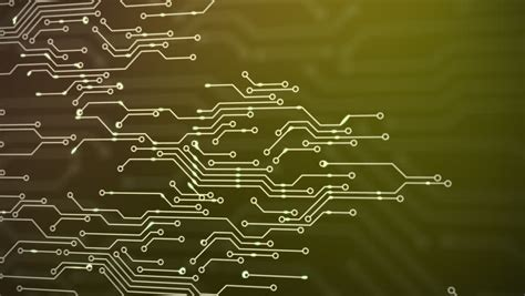 circuit board animation animated printed circuit board background stock footage
