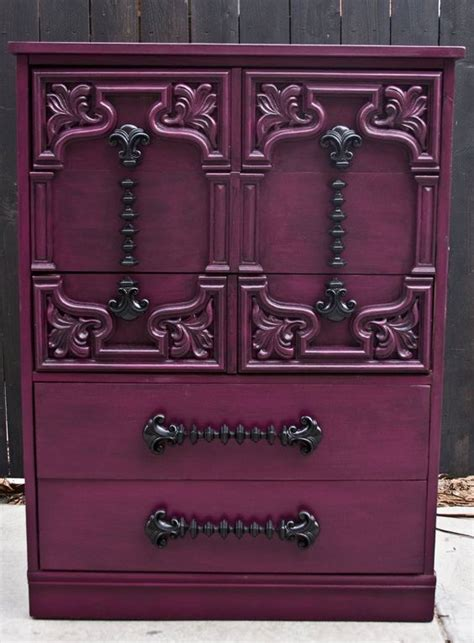 furniture purple chest of drawers and armoires on