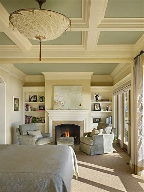 coffered walls ceiling home decor misc ideas pinterest