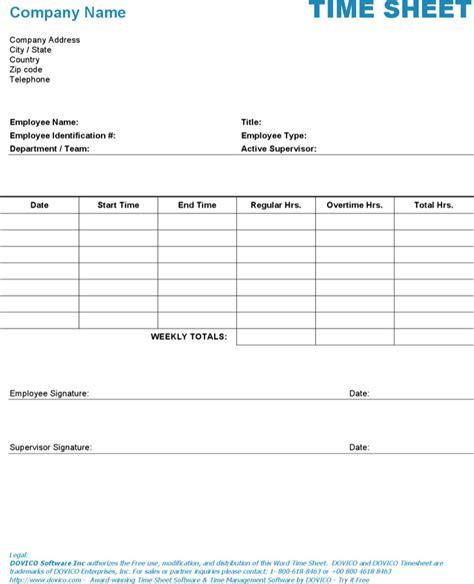 timesheet template microsoft word hr timesheet templates free premium templates