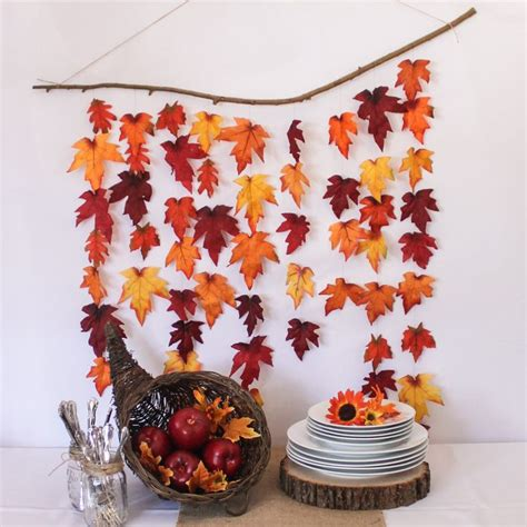 thanksgiving decorations best 25 fall leaves crafts ideas on autumn