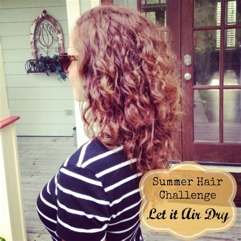 Drying Curly Hair With Cold Air summer hair challenge results get your pretty on