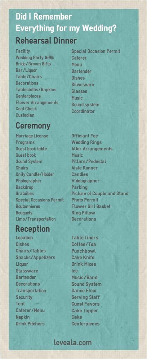 Wedding Weekend Checklist best 25 wedding weekend ideas on wedding
