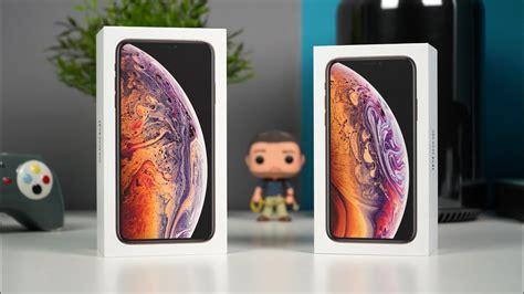 معاينة وفتح صندوق ا يفون xs و ايفون xs ماكس iphone xs max