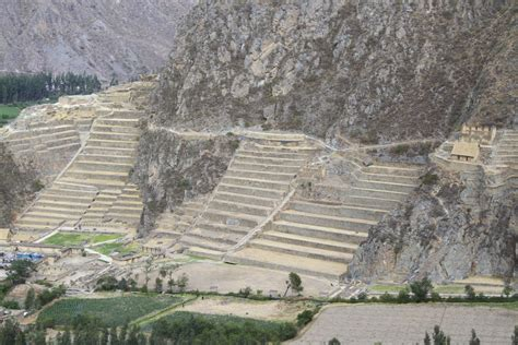 Floor In Spanish by The Sacred Valley Of The Inca Ollantaytambo
