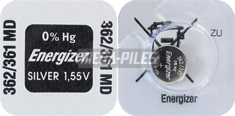 detecteur fumee 1487 pile sr721w oxyde argent 361 362 1 55v 27mah x1 energizer
