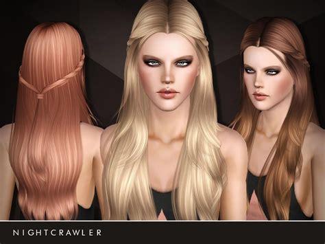 the sims 3 cc hair nightcrawler sims nightcrawler af hair15 the sims 3 cc