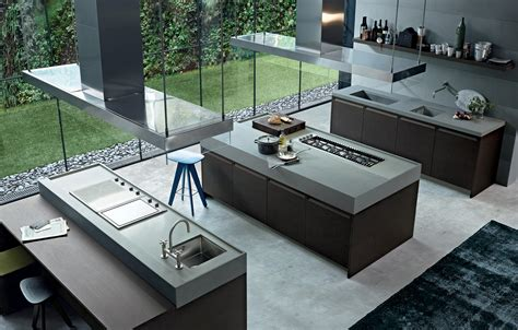 Luxury Designer Kitchens minimal k 252 cheninseln von varenna poliform architonic