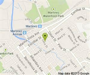 map of martinez california s bar and restaurant in martinez ca 823 st