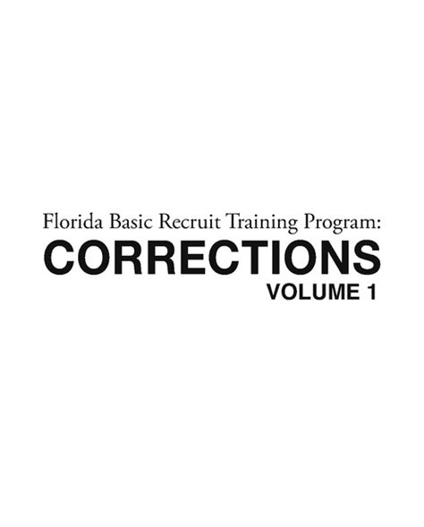 fl corrections officer manual fdle 2013