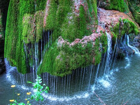 most beautiful waterfalls cascada bigar in romania most beautiful waterfall