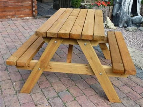 table table swinging bridge webbs forest furniture 2014 for fence panels garden sheds