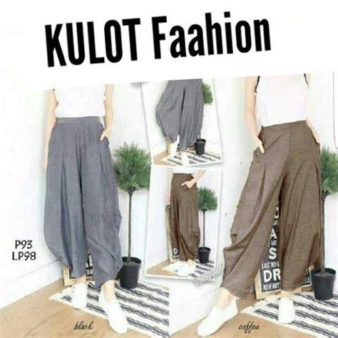 Celana Fashion Wanita 71 jual beli celana wanita kulot fashion baru jual beli