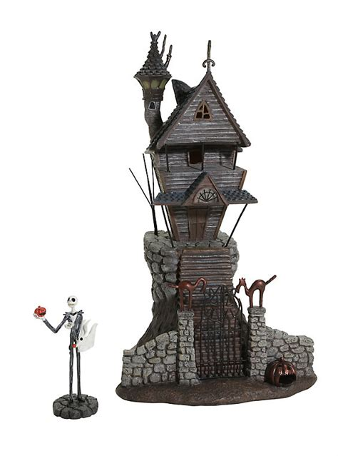 figure house the nightmare before skellington house