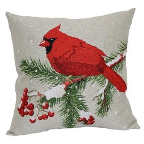Cardinal Pillow by 18 X 18 Quot Winter Cardinal Tapestry Pillow Home Home