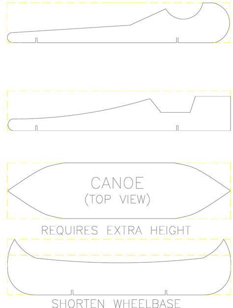 download pinewood derby car template 1 for free page 14