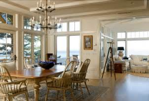 Maine Dining Room by Maine Beach Cottage Home Bunch Interior Design Ideas