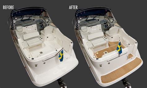 speedboot chaparral 265 gallery with flexiteek boat decking and flooring