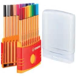 color pen set stabilo point 88 color parade pen set stabilo point 88