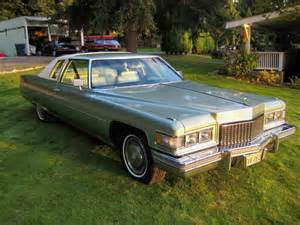 1975 Cadillac Sedan 15k Mile 1975 Cadillac Coupe Bring A Trailer
