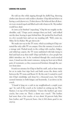 Looking for Alaska excerpt by Penguin Teen - Issuu