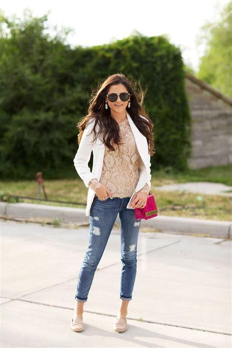rachel parcell spring style staple women s white blazer just the design