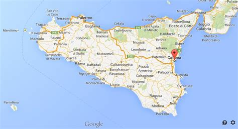 sicily on map related keywords suggestions for map catania