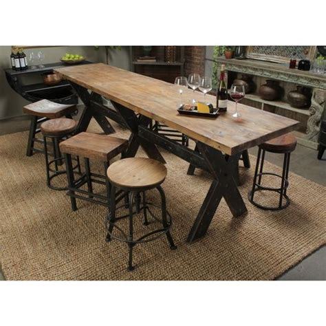 narrow dining room tables reclaimed wood best 25 narrow dining tables ideas on narrow