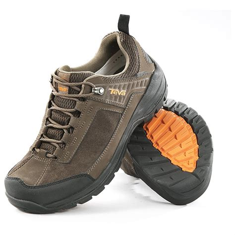 mens waterproof sandals s teva gannett waterproof hiker lows turkish coffee