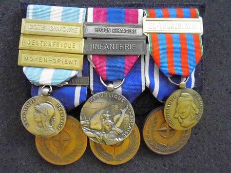french foreign legion  yougoslavie medal bar  france gentlemans military interest club