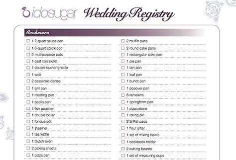 wedding gift list name wedding gift registry checklist imbusy for