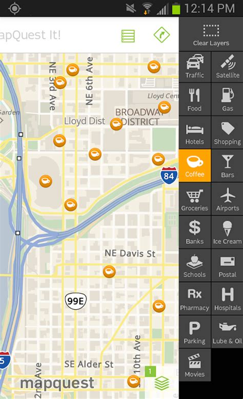 mapquest app for android mapquest gps navigation maps android apps on play