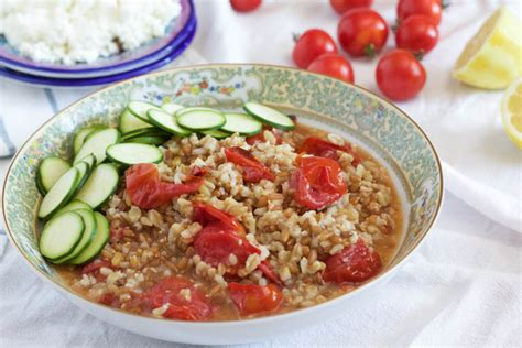 salads with whole grains whole grain salad with roasted tomatoes not just baked