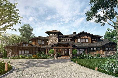 4 bedroom lodges 4 bedroom mountain lodge house plan 12943kn