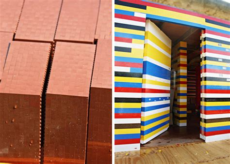 life size lego house bricks and scones british house built entirely of legos urbanist