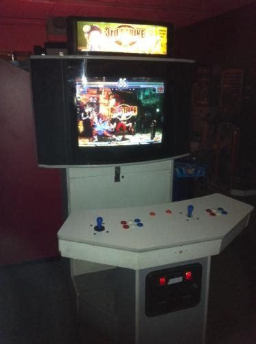 street fighter 3 cabinet street fighter 3 3rd strike show piece cabinet for sale