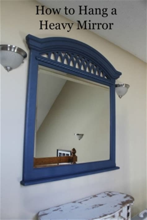 hanging wall mirror foter