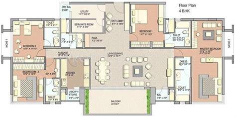 3150 sq ft 4 bhk floor plan image lodha grandeur