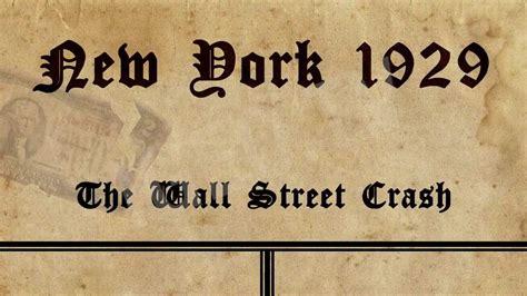 imagenes sobre el jueves negro crash del 29 the wall street crash new york 1929 igeo