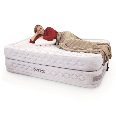 intex supreme intex supreme air flow air mattress with built in