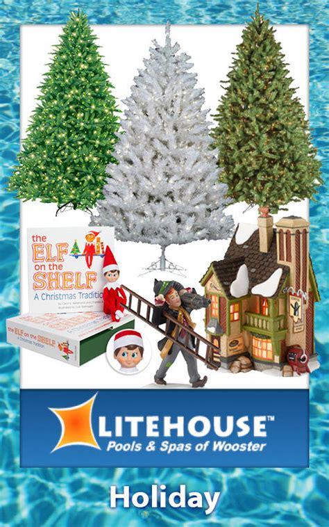 litehouse pools christmas trees litehouse pools spas of wooster in wooster oh 44691 chamberofcommerce