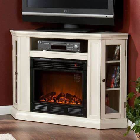 claremont wall or corner electric fireplace media cabinet