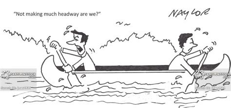sinking boat team building game oars cartoons and comics funny pictures from cartoonstock