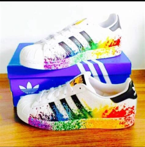 adidas originals color splash shoes on the hunt