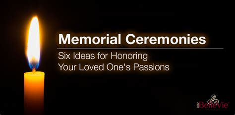 100 honoring a loved one with ways to honor a