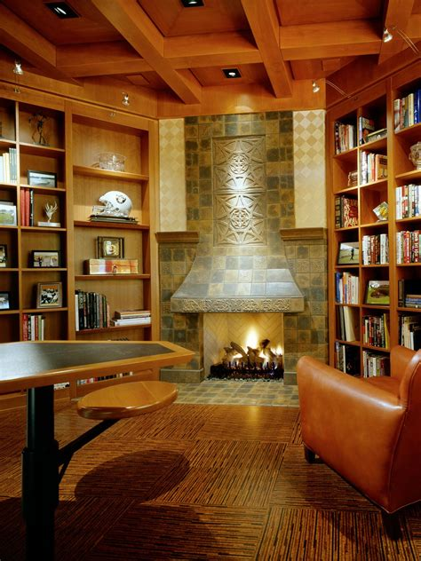 Library Fireplace by 12 Dreamy Home Libraries Decorating And Design Ideas For