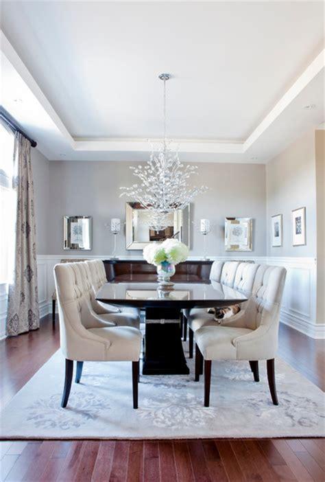 miami elegant end tables dining room transitional with hudson residence transitional dining room