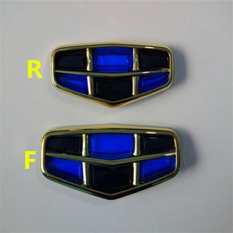 Emblem E Grand New Avanza Ori geely emgrand 7 ec7 ec715 ec718 emgrand7 e7 rs car front logo car emblem blue with black