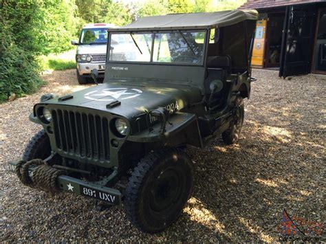 1962 Willys Jeep Hotchkiss Jeep 1962 Not Ford Willys Gpw Ww2 Wwii Mb
